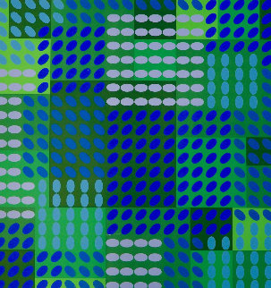 Tavoll 1964 Limited Edition Print by Victor Vasarely
