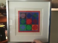 Squares Limited Edition Print by Victor Vasarely - 1