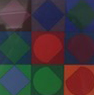 Squares Limited Edition Print - Victor Vasarely