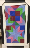 Door 1982 Limited Edition Print by Victor Vasarely - 1