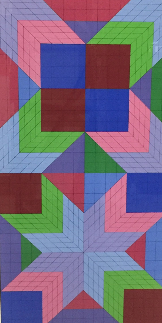 Door 1982 Limited Edition Print by Victor Vasarely