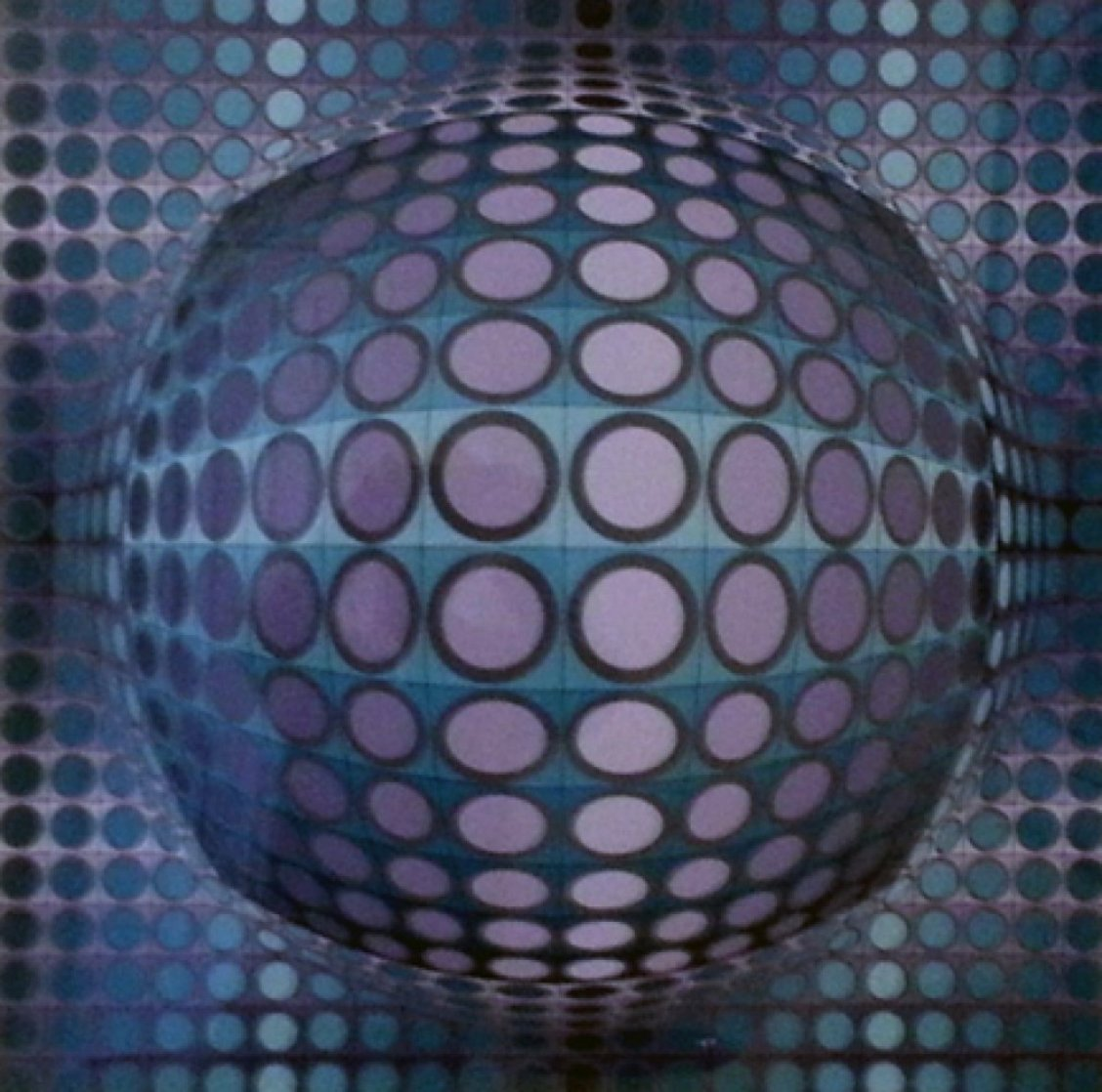 Viva 1979 AP Limited Edition Print by Victor Vasarely