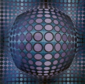 Viva 1979 Limited Edition Print - Victor Vasarely