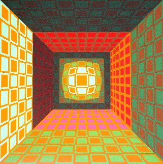 Kaldor 1989 Limited Edition Print - Victor Vasarely