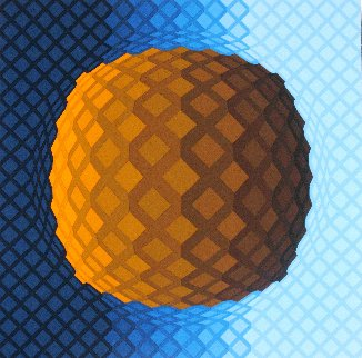 Koscota 1980 Limited Edition Print by Victor Vasarely