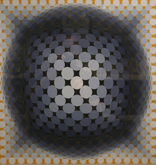 Circles 1973 Limited Edition Print by Victor Vasarely