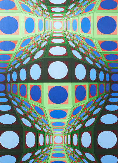 Pava 1978 Limited Edition Print by Victor Vasarely