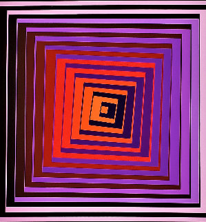 Pavo 1970 Limited Edition Print - Victor Vasarely
