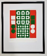 Yvaral (Red and Green) 1970 Limited Edition Print by Victor Vasarely - 3