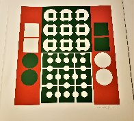 Yvaral (Red and Green) 1970 Limited Edition Print by Victor Vasarely - 4