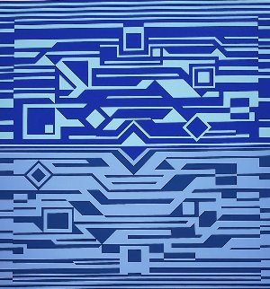 Antares 1970 Limited Edition Print - Victor Vasarely