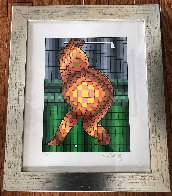 Golfer 1970 Limited Edition Print by Victor Vasarely - 1