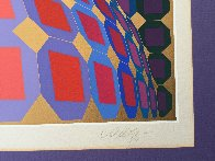 Kaaba III 1984 Limited Edition Print by Victor Vasarely - 3