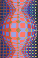 Kaaba III 1984 Limited Edition Print by Victor Vasarely - 0
