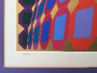 Kaaba III 1984 Limited Edition Print by Victor Vasarely - 2