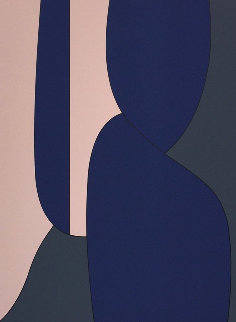 Menerbes 1988 Limited Edition Print by Victor Vasarely