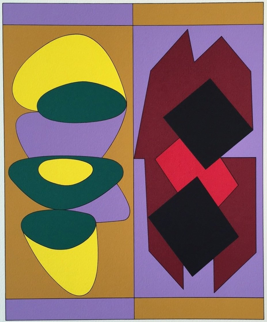 Ion Album - Kris Bille 1989 Limited Edition Print by Victor Vasarely