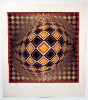 Teke 1970 (Early) Limited Edition Print by Victor Vasarely - 1