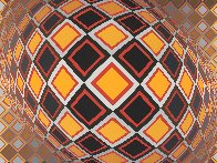 Teke 1970 Limited Edition Print by Victor Vasarely - 4