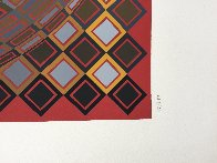 Teke 1970 (Early) Limited Edition Print by Victor Vasarely - 2