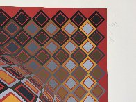 Teke 1970 (Early) Limited Edition Print by Victor Vasarely - 3