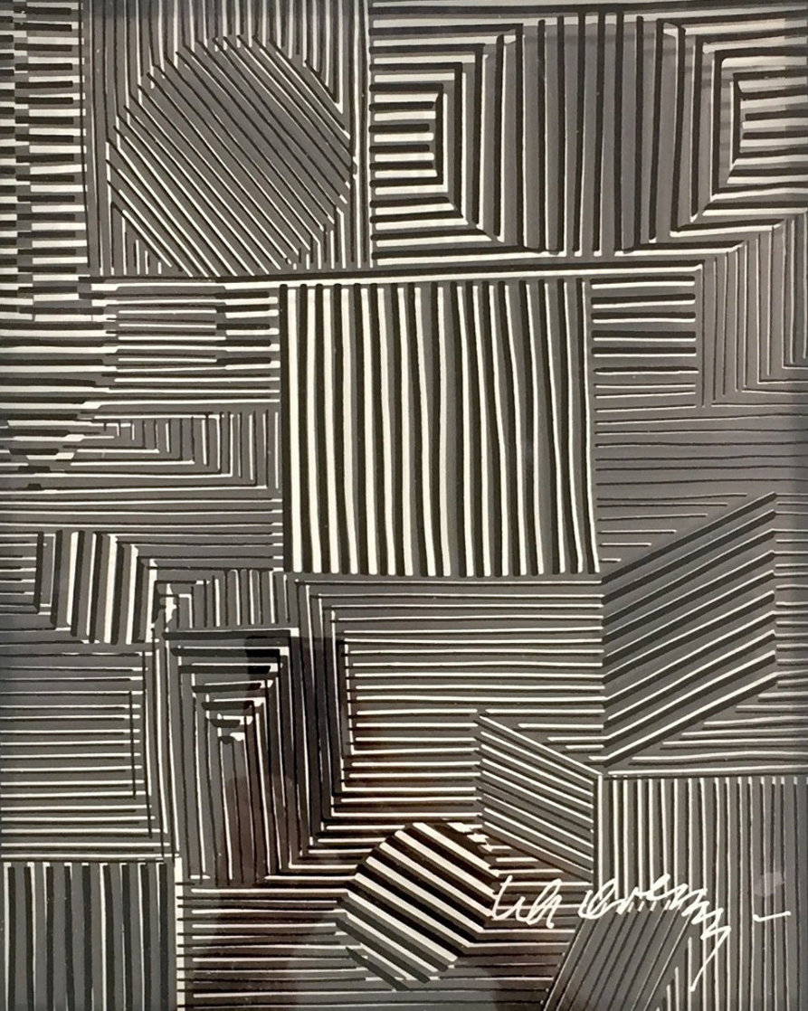 Cinetique #1 1973 Limited Edition Print by Victor Vasarely