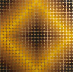 Dia 1968 Limited Edition Print - Victor Vasarely