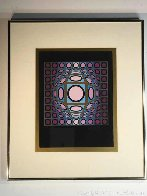 Cosmic Cosmos IV AP 1970 Limited Edition Print by Victor Vasarely - 1