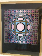 Cosmic Cosmos IV AP 1970 Limited Edition Print by Victor Vasarely - 2