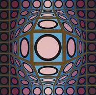 Cosmic Cosmos IV AP 1970 Limited Edition Print by Victor Vasarely - 3