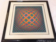 Bez Tzyulur 1974 Limited Edition Print by Victor Vasarely - 1