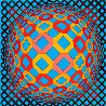 Bez Tzyulur 1974 Limited Edition Print by Victor Vasarely - 0