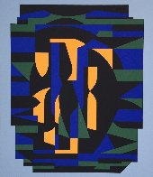 Ion Album - Risir AP 1989 Limited Edition Print by Victor Vasarely - 2