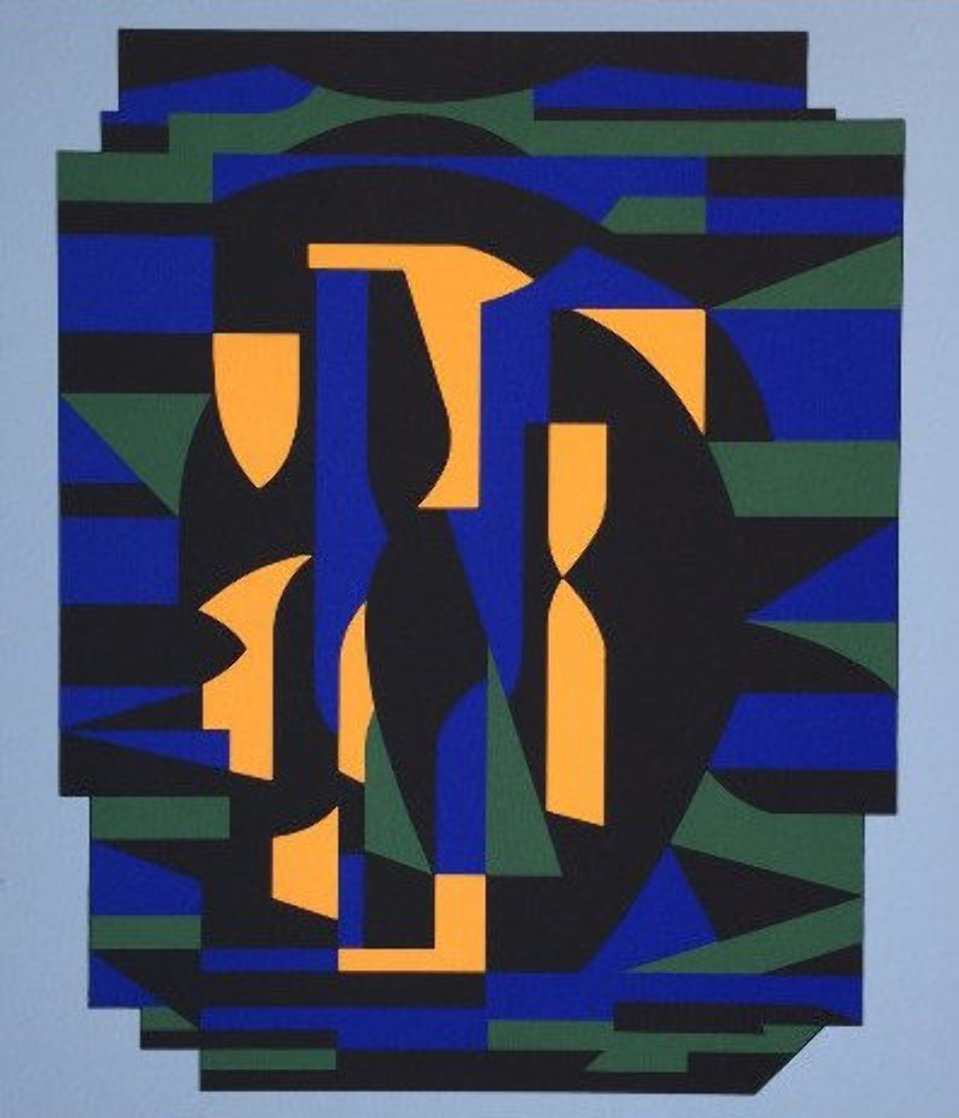 Ion Album - Risir AP 1989 Limited Edition Print by Victor Vasarely