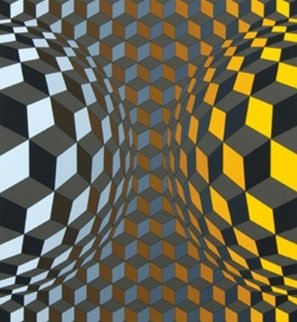 Louisiana IV 1983 Limited Edition Print - Victor Vasarely