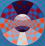 Pixis 1980 Limited Edition Print by Victor Vasarely - 0