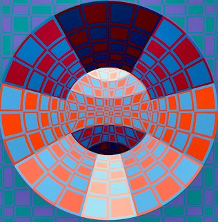 Pixis 1980 Limited Edition Print - Victor Vasarely