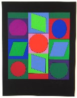 Zaphir 1970 Limited Edition Print by Victor Vasarely - 1