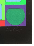 Zaphir 1970 (Early) Limited Edition Print by Victor Vasarely - 4