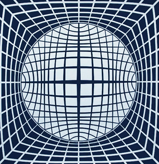 Ter Ur 1984 Limited Edition Print by Victor Vasarely