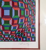 Untitled Op Art: Helios Suite EA 1981 Limited Edition Print by Victor Vasarely - 3