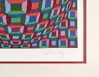 Untitled Op Art: Helios Suite EA 1981 Limited Edition Print by Victor Vasarely - 4