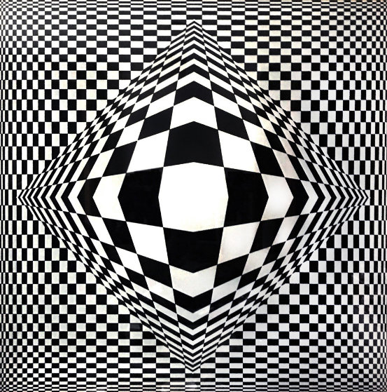 Paris - Tokyo 1980 Limited Edition Print by Victor Vasarely