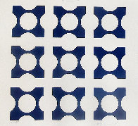 Blue: Album I Suite 1959  Limited Edition Print by Victor Vasarely - 2