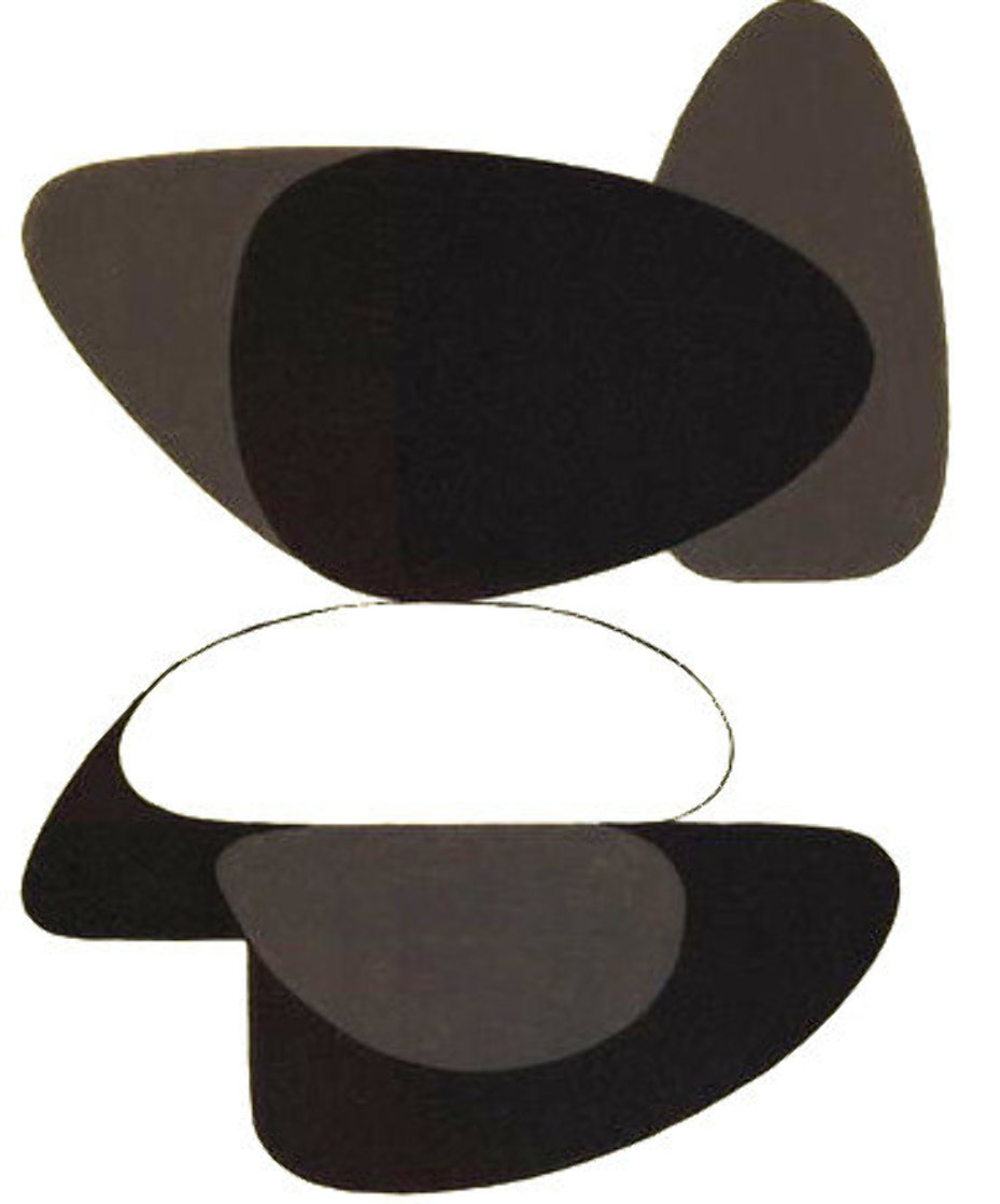 Octal No. 5 1972 (Early) Limited Edition Print by Victor Vasarely