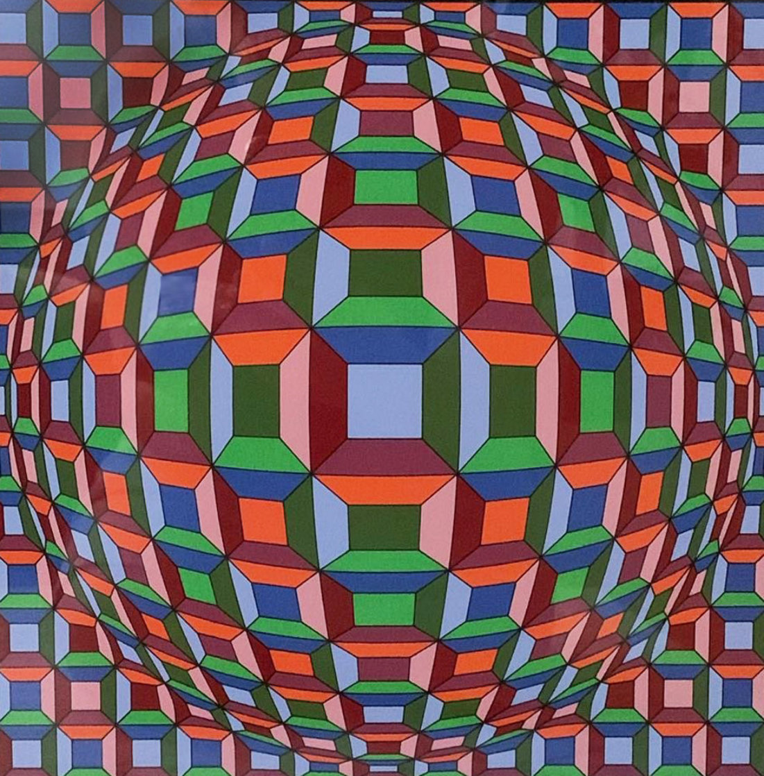 Untitled Print Limited Edition Print by Victor Vasarely
