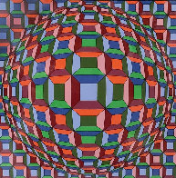 Untitled Print Limited Edition Print by Victor Vasarely - 0