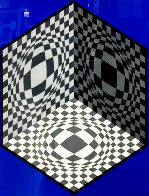 Cubic Relationships 1982 Limited Edition Print by Victor Vasarely - 0