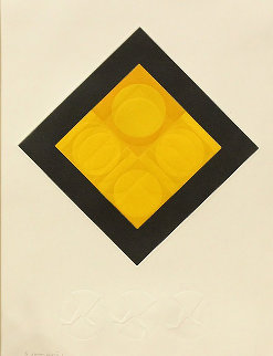 Untitled Serigraph AP 1960 (Early) Limited Edition Print by Victor Vasarely