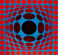 Ives 1970 Limited Edition Print by Victor Vasarely - 0